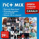 NC+ MIX Platinum z dek. 5800S 1ms gratis