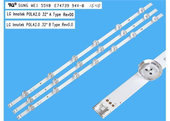 Zestaw listw TV LED LG INNOTEK POLA2 0 32