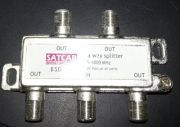 SATCAB BSD04 4-way splitter