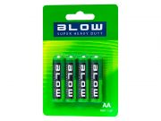 Bateria BLOW Super heavy duty AA R06P (blister 4 szt.)